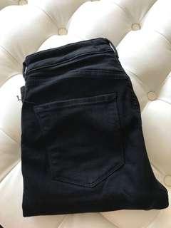 Scotch and Soda black jeans size 26