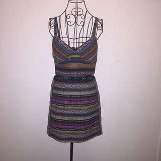 (10/12) Dotti skirt/top set