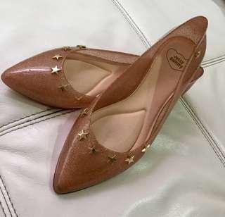 JELLY BUNNY Flat Shoes in Beige