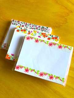 Notecards with envelopes pack of 10