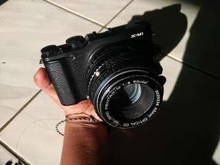 Fujifilm xm1 X-M1 BO bonus lensa fix bokeh