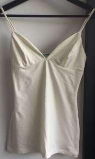 Kookai everyday white cami singlet top
