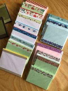 Notecards with envelopes