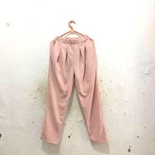 Celana / pants pink