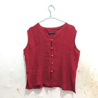 Rompi / vest merah