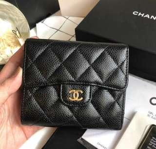 Chanel Trifold Wallet