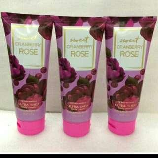 SWEET CRANBERRY ROSE BATH & BODY LOTION 226g
