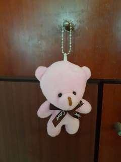 Soft stuffed bear toy 4 inches in length