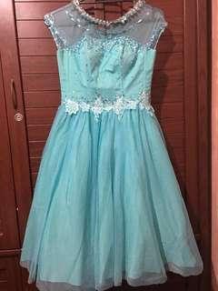 Cocktail Dress (Teal)