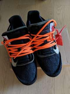 Nike Off White Air Presto Black US9