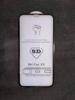 全新 iPhone XR 5D 9H 全屏弧邊 玻璃貼