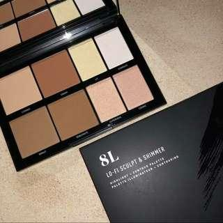 (Sale) Morphe 8L LO-FI SCULPT & SHIMMER