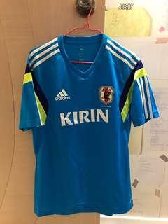 日本國家隊練習球衣 Japan  training shirt