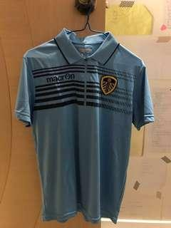 Leeds united 列斯聯 polo shirt