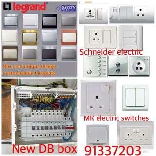 Switch/sockets/circuit breaker/DB box/power troubleshooting 24/7h 91337203