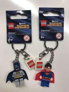 Lego Super Heroes Keyrings