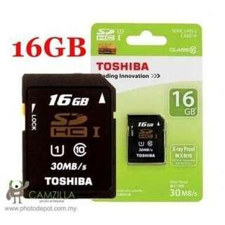 Toshiba sd card 16gb