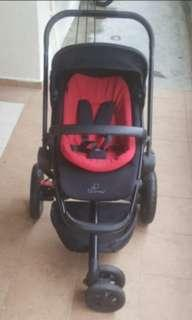 Quinny buzz limited edition stroller ( black )