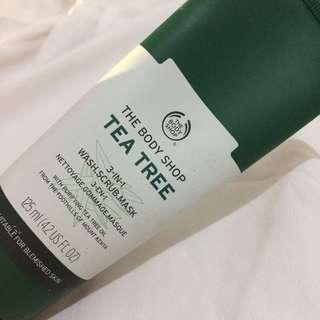 REPRICED! TBS Tea Tree 3-in-1 wash-scrub-mask