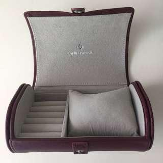 Cortina Leather travel watch case