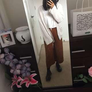 ASOS Tan wide leg pants