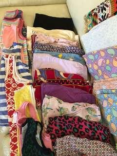 Girls home clothes bundle