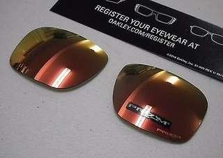 Oakley Holbrook Ruby Prizm Lens ONLY