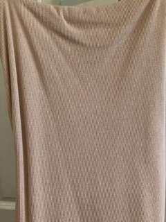 Kookai Nude Mini Dress
