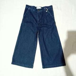 Zara Denim Square Pants