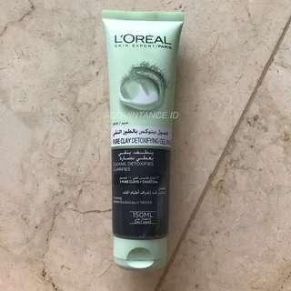 SHARE IN JAR L'oreal Pure Clay Detoxifying Gel Wash