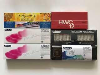 Holbein Artist watercolor 12x5ml Tube