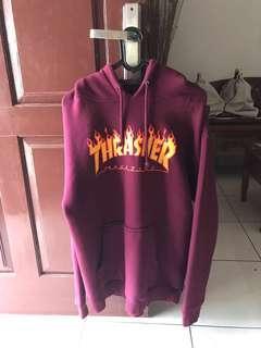 Thrasher Maroon hoodie original