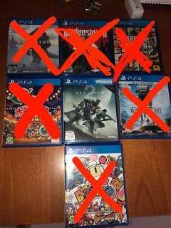 二手PS 4 game