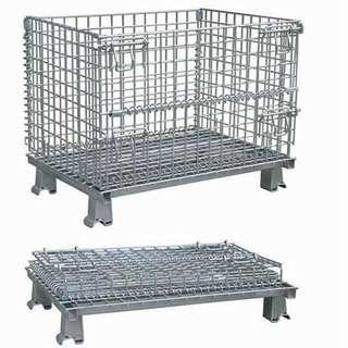 Pallet Wire Mesh Cage Container