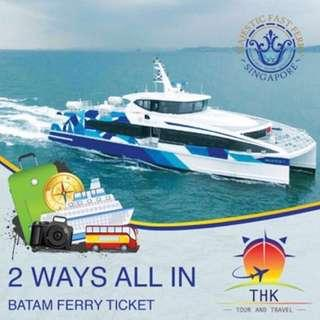 Batam Ferry Ticket for TWO