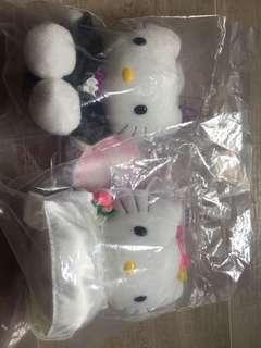 Hello Kitty 公仔一對