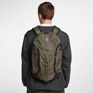 🚚 Nikelab backpack 機能 牛皮革底 後背包 nike