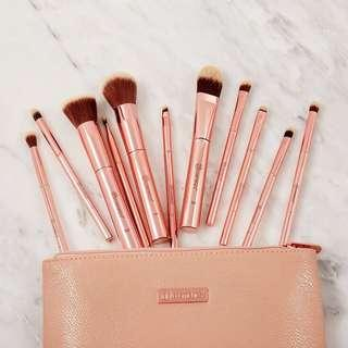 BH Cosmetics Metal Rose Set Brush