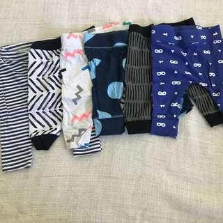 6 Baby Patterned Tights