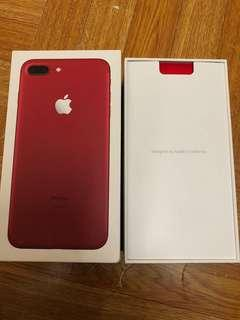 iphone 7 plus 128gb Red