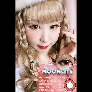 🆕 I.Fairy Moonlite Red contact lens #H&M50