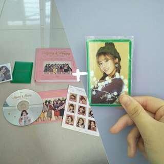 [ WTS ] Twice Merry & Happy album + photocard