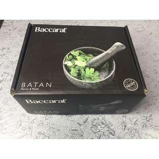 Baccarat Mortar & Pestle for sale $35 (New)
