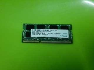 Laptop RAM Memory DDr3 CL7 Apacer