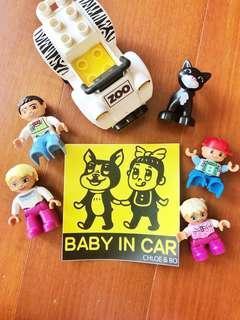 🚚 Baby in car 貼紙