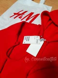 REPRICE Crop hoodie h&m