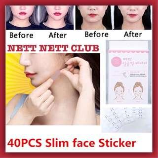 *NEW!* - DODO LABEL - V Face Maker | Double Chin Sticker | V Face Sticker | Face-Lift Sticker