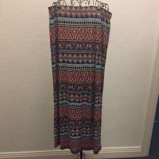 (10) Tigerlily maxi skirt