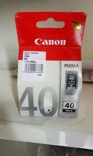Printer ink Canon black