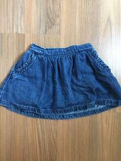 Next UK Denim Skirt